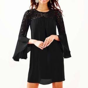 Lilly Pulitzer Amenna Bell Sleeve Lace Dress 2